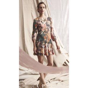 Meadow Rue Drop Waist Dress